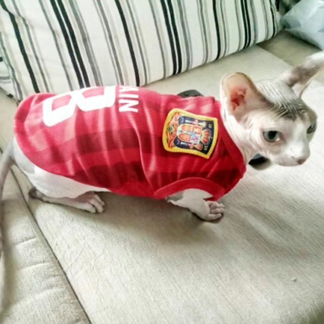 a33b81bfd Sports Dog Vest Cat Shirt Pet Clothing Summer Cotton Sweatshirt ...